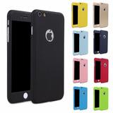 Capas Com Vidro Temperado Para Iphone 5s 6s Plus 7 7 Plus