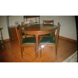 Mesa De Sala De Jantar Extensivel Com 4 Cadeiras